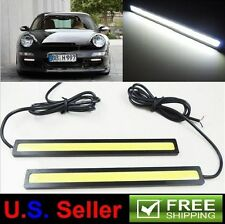 2X 17CM White COB 48LED SMD DRL Day Time Running Fog Light Bar Audi Volkswagen