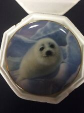 """The Franklin Mint """"Snow Pup"""" Fine China Porcelain Plate By Wepplo No box"""