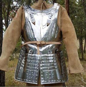 Medieval Warrior Steel English Civil War Cuirass / Breastplate and tassets