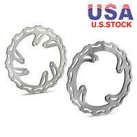 Front Rear Brake Disc Rotor for Honda CR125 CR250 CRF250 CRF450 2004 05 06 2007