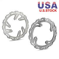 Front & Rear Brake Disc Rotor for Honda CRF250R CRF450R CRF250X CRF450X US.Stock
