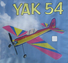 Baukasten YAK-54  Spannweite: 82cm, Steuerung: Seite, Höhe, Quer, Motor  ab:250g