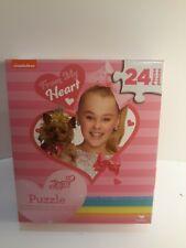 """New JoJo Siwa """"From My Heart"""" 24 piece Puzzle"""