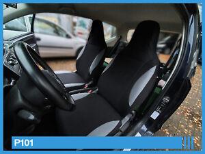 Toyota Aygo I 05-14 Autositzbezüge Rot Komplettset Sitzbezug Auto Schonbezüge