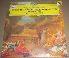Melos Quartet MOZART String Quartets K499 & 575 - DG 410 998-1 SEALED