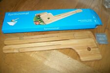 Forminimal-bamboo salad tongs/servers.New in box.RRP 22 £