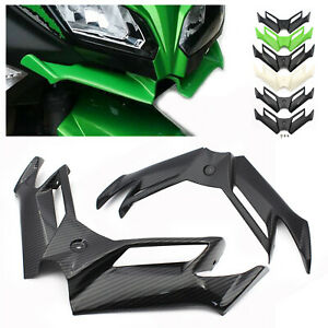 ABS Front Fairing Aerodynamics Winglet For Kawasaki Ninja 250 300 Moto GP STYLE