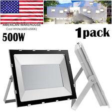 New listing 500W Watt Led Flood Light Bright White Outdoor Security Work Spotlight Ac110V