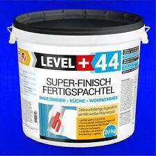 Super Finish 20kg  Spachtel Masse, Fertigspachtel Gips Glätt Flächen Füll RM44