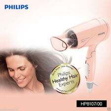 NEW Philips HP8107 Salon Essential Foldable Hair Dryer 1200W PEACH COLOR