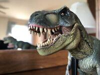 1/35 Custom Handmade One Of A Kind Papo Jurassic Park Tyrannosaurus Rex