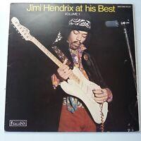 Jimi Hendrix - At His Best Vol 1 - Vinyl LP Italy Press EX