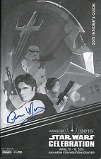 Dennis Muren signed IP Star Wars Celebration 2015 program with proof photo SFX