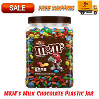 M&M's Milk Chocolate Candy, Plastic Pantry Size Jar (62 oz.) Classic Formula