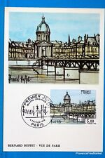 FRANCE CPA   Carte Postale Maximum PARIS PAR BERNARD BUFFET   Yt 1994 C