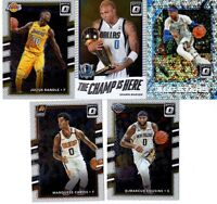 2017-18 DONRUSS OPTIC BASKETBALL LOT OF 13 CARDS! 4 INSERTS! 4 ROOKIES!