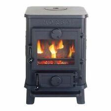Morso Squirrel 1410 Wood Burning MultiFuel Stove - Black