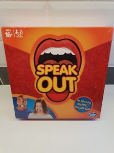Hasbro Speak Out Party Board Game New Sealed Christmas Gift
