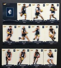 2013 Select Champions AFL Football Cards Team Set - Carlton