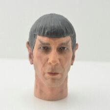Star Trek Spock Leonard Nimoy Head Sculpt 1/6 Fit 12'' Action Figure Model New