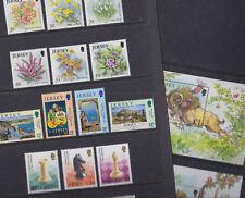 Jersey 2003-04 Mint MNH 3 Full Set 2 Minisheets Chess Flowers Ram Monkey Posters