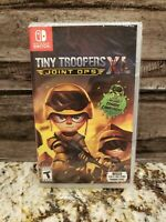 TINY TROOPERS JOINT OPS XL 2019 Nintendo Switch SEALED