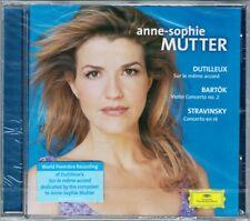 Anne-Sophie MUTTER DUTILLEUX Sur le meme accord BARTOK STRAVINSKY Masur Ozawa CD