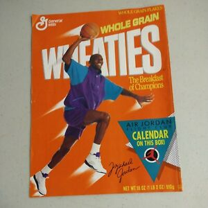 Michael Jordan Calendar Wheaties Box 1991                       (A-1)