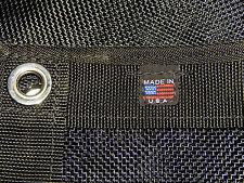 Mesh Tarp Black 10' Ft. x 15' Ft. Gorilla Mesh, Extra Heavy Duty Materials