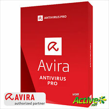 Avira Antivirus Pro 2019 1PC 1Jahr | VOLLVERSION | NEU 2019 DE-Lizenz