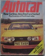 Autocar magazine 2 October 1976 featuring BMW, Ford Cortina road test