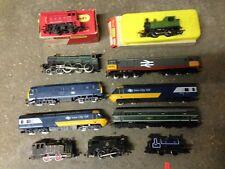 Job Lot of Vintage Hornby Triang + Other OO Gauge Locomotives Engines Shunter