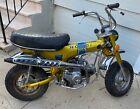 1972 Honda CT  Candy Yellow Honda CT70