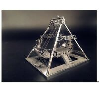 3D Metal model kit Viking Assembly Model DIY Laser Cut Model puzzle adult toys