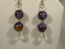 Charoite  Dangle Earrings