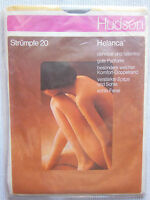 Hudson Strapsstrümpfe-Langstrümpfe NYLONS Helcana 20 Vintage Gr. 10,5-11      b