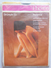 Hudson Garter Belt Stockings - Long Nylons Helcana 20 Vintage Size 10,5 -11 B