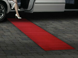 Roll Out Red Carpet Special Occasion Wedding Aisle Runner 9 Ft x 2.83 Ft