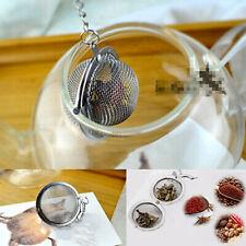 "2"" Tea Infuser Ball Mesh Loose Leaf Herb Strainer Stainless Steel Secure Locking"