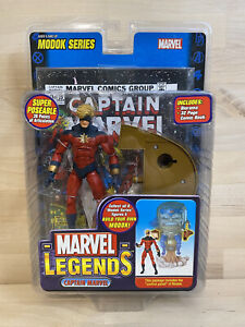 Captain Marvel Legends Action Figure Modok Series New Sealed w/Comic ToyBiz