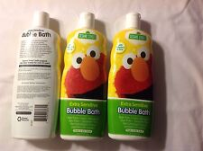 (3 Bottles) Sesame Street Extra Sensitive Bubble Bath (72 oz) Ins + Track # Incl