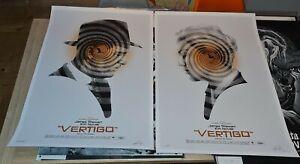 Vertigo - Limited Screen Print set by Greg Ruth nt Mondo hitchcock