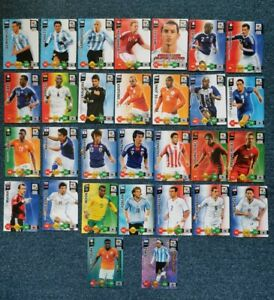 Adrenalyn XL World Cup 2010 Trading Cards Bundle x30