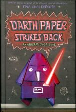 Autographed Darth Paper Strikes Back: An Origami Yoda Book (2011, Hardcover)
