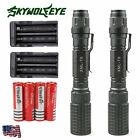 2Sets 6000Lumens 5 Modes CREE XML T6 LED Rechargeable Flashlight +18650+Charger