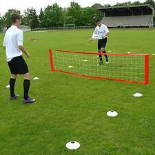Fußballtennis S für Rasenplatz 3 m breit + Tasche Trainerbedarf Superspieler24