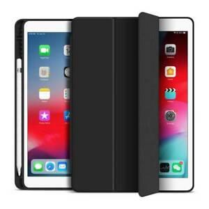 "For iPad 678th 10.2 9.7 11 Air 4 10.9"" Mini Flip Stand Smart Case Cover Pen Slot"