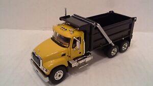Mack Granite  3  Axle Dump Truck by  First Gear  - 1:64  scale  -  Diecast  NIB