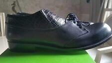 COMME DES GARÇONS HOMME PLUS Loafers Nappa Leather Shoes OXFORDS Japan US8 RARE