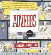 Adverbs by Daniel Handler (2006, CD, Unabridged)